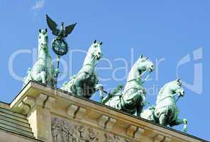 Quadriga - Brandenburger Tor - Berlin