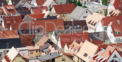 Dächer in der Stadt - Roofs in the City