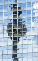 Fernsehturm Berlin gespiegelt im Hochhaus