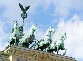 Quadriga auf dem Brandenburger Tor - Berlin