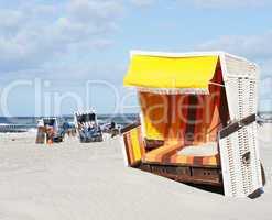 Strandkörbe am Meer - Relax Concept