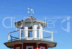 Wetter Station am Strand - Weather Station