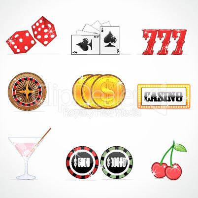 casino icons