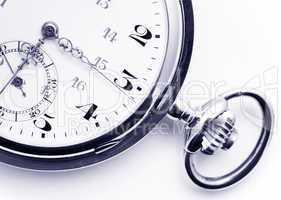 Detail alte Taschen Uhr - Old Pocket Watch