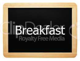 Breakfast - Concept Sign - Konzept Tafel