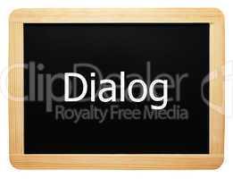Dialog - Konzept Tafel