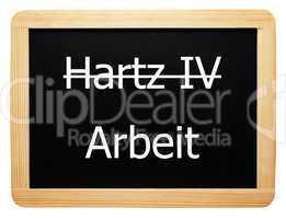 Hartz IV / Arbeit - Konzept Tafel