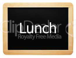 Lunch - Concept Sign - Konzept Tafel