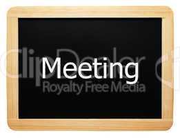 Meeting - Concept Sign - Konzept Tafel
