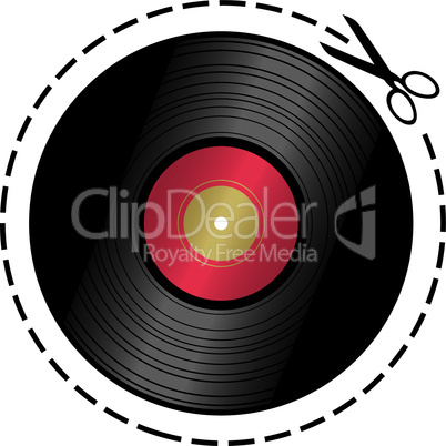 cut out music token