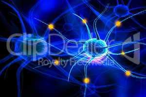 3d nerve cell