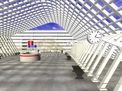 Flughafen 3D
