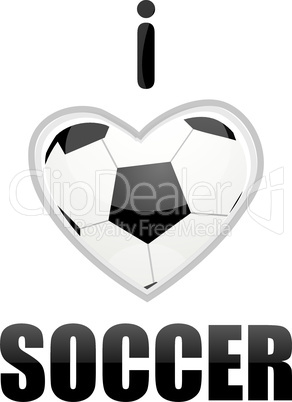 soccer with white background