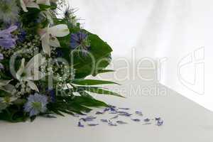 Blumenstrauss mit Textfreiraum