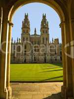 All Soul's College - Oxford University - UK
