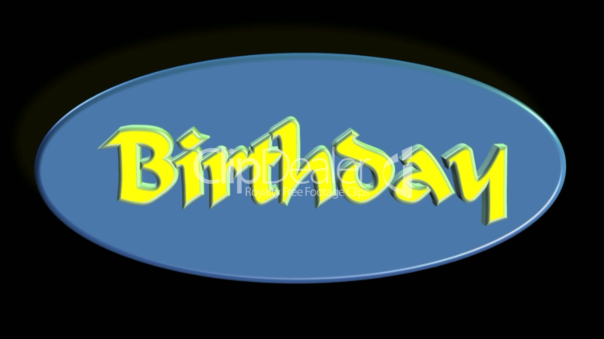 Happy Birthday Video Concept Lizenzfreie Stock Videos und Clips