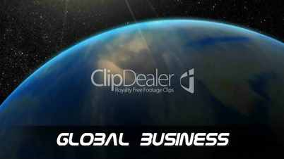 The Earth and Global Business - Concept Video