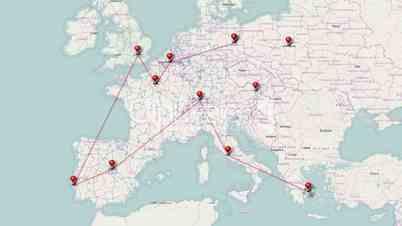Flugreise Europa - Video - Travel Europe
