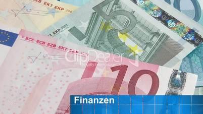 Euro Geldscheine - Finanzen