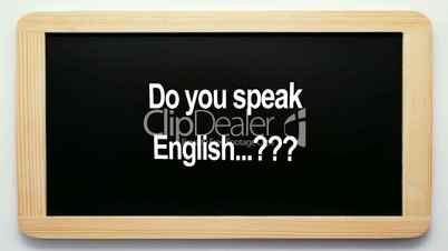 Do you speak English...??? - Concept Video