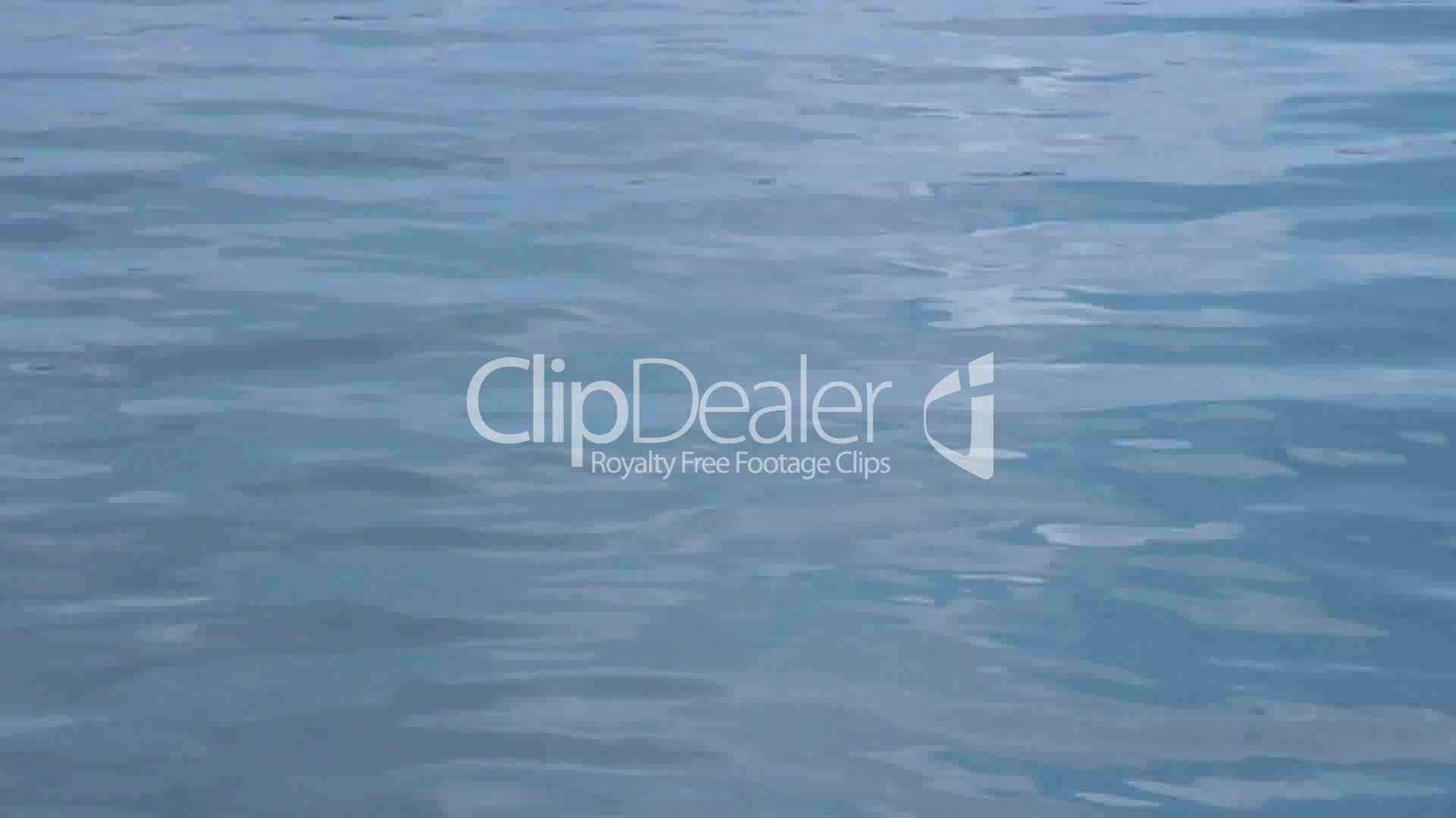 Soft blue Water Waves: Royalty-free video and stock footage