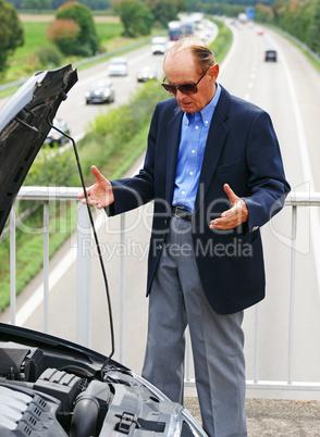 Problem Auto Panne - Problem Car Breakdown