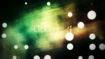abstract background rotating with light dots
