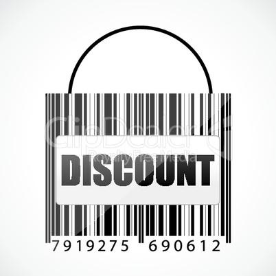 barcode discount bag