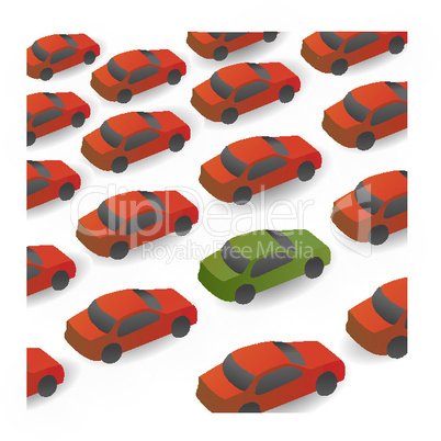 cars on the way