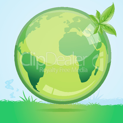 recycle globe