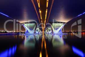 Al Garhoud Bridge in Dubai