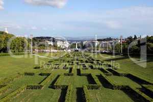 Parque Eduardo VII in Lissabon