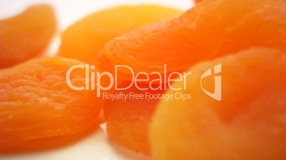 Dried fruit apricots
