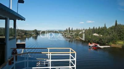 Fairbanks river side float plane P HD 7881