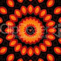 Ring of Fire Mandala 07