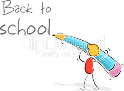 illustration of back to school