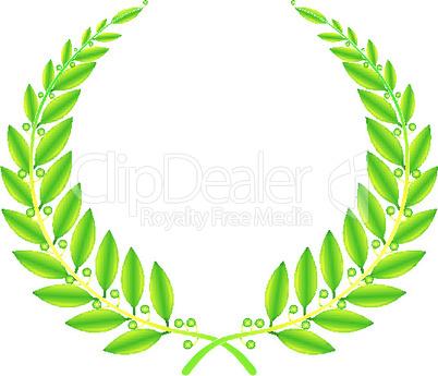 wreath sign