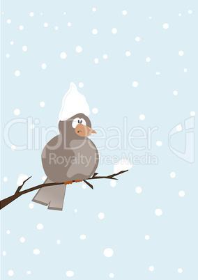 Winter dreams, seasonal backgrounds