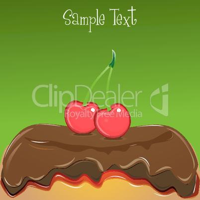 dessert card