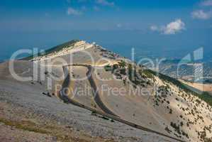 Am Mont Ventoux, Provence - At the Mont Ventoux, Provence
