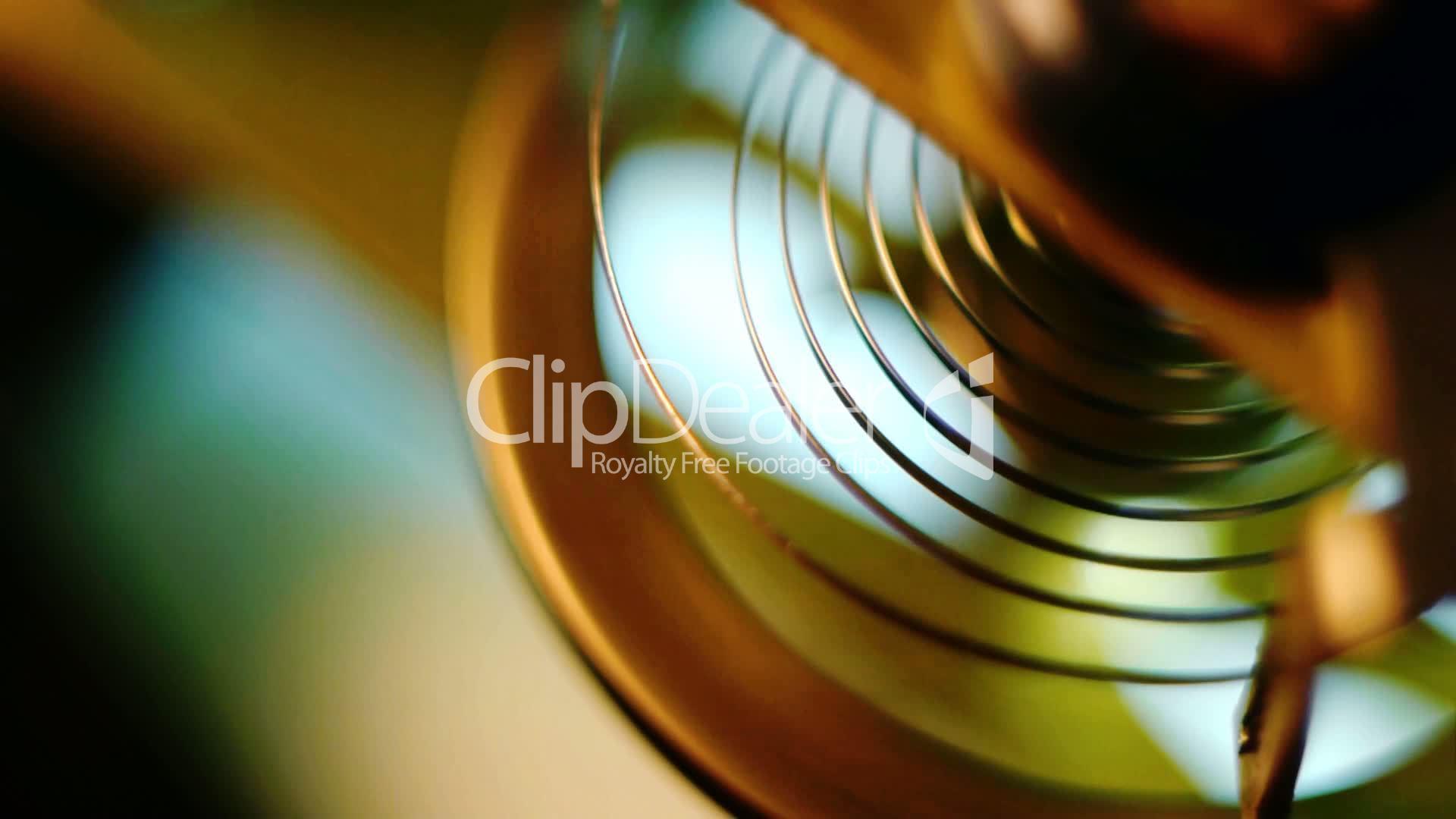 Pendulum clock mechanism: Royalty-free video and stock footage