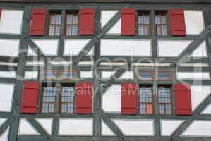 Fachwerkhaus in Esslingen am Neckar - Half timbered house in Esslingen am Neckar, Germany
