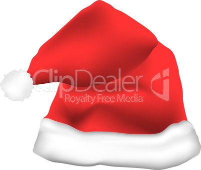 red father christmas hat