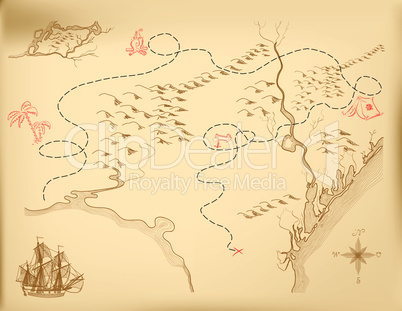 Vector old map