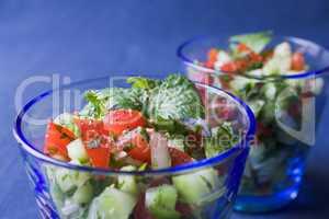 Indischer Gurkensalat - Indian cucumber salad