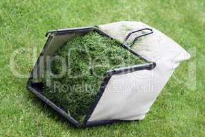 Lawn mower basket