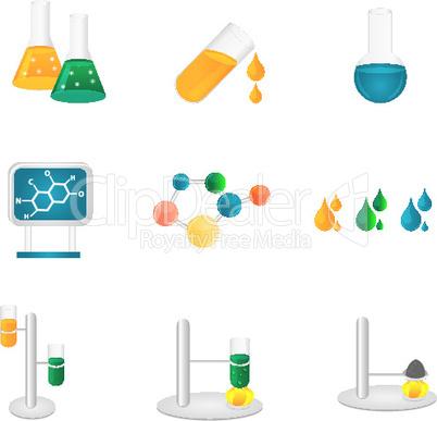 Symbole aus der Chemie