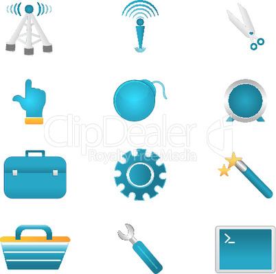 Icons für Handwerker
