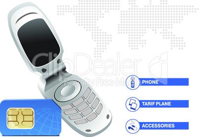 Simkarte + Telefon