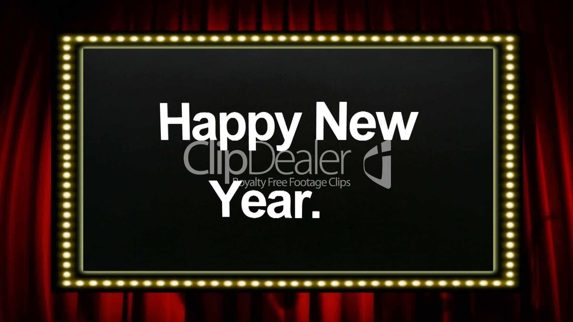 Happy New Year...! - Video Animation: Royalty-free video and stock ...